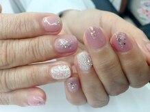 ネイルガーデン ノワ(nail garden Noix)の雰囲気(自爪を削らないパラジェル使用♪豊富なカラーをご用意してます。)
