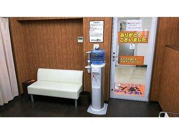 ほぐしの達人 秋葉原駅前店/お水も用意しております☆
