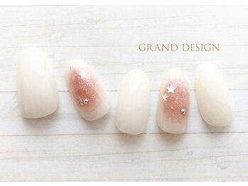 グランドデザイン 大垣店(GRAND DESIGN)/囲みガーリーネイル