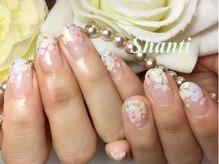シャンティ ネイルサロン(Shanti nail salon)/春夏手描きフラワー♪