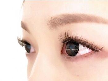 マイレアイラッシュ 京都烏丸(MAILE eyelash)の写真/完全個室*黒目キラキラ、透明感を引き出す愛され瞳へ♪最高級プラチナセーブル80本¥3800/まつげカール¥3800