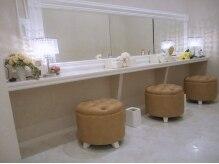アイラッシュ サロン ルル 春日井店(Eyelash Salon LULU)の雰囲気(そのままお出掛けする方にはパウダールームも御座います。)