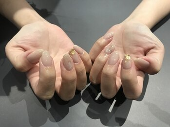 【nail】simple stone 初回6800
