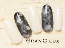 グランシュクアトロ 千葉店(GranCieux × QUATRO)/滲ませモノトーンワンカラー