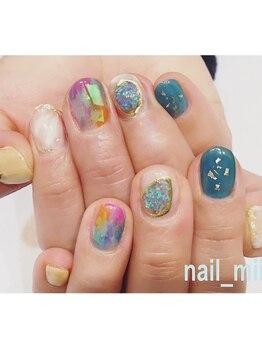 nail miii & eyelush【ネイルミーアンドアイラッシュ】(hair+resort valentine)_デザイン_12