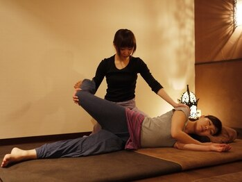 アジアンヒーリングリゾートサワン 神楽坂店 (Asian Healing Resort sawan)の写真/全身のタイ古式+フットorヘッドショルダーのメニューが人気◎ゆっくりとした極上の時間で心身リラックス♪