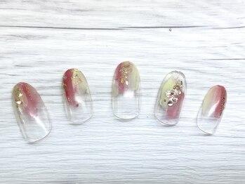 ロバル ネイルアンドまつげ(LOBAL)/夏キャン☆7000円アート特集☆