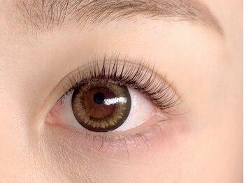 アイ カール デザイン(Eye Curl Design)の写真/《大人気メニュー!!》極美のナチュふわっ=【次世代まつ毛パーマ】+【エクステ40本】で魅力的♪