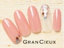 グランシュクアトロ 千葉店(GranCieux × QUATRO)/大人ピンク×キラキラホログラム