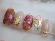 ネイルミー(nail me!)/ソフィラジェルHP掲載デザイン