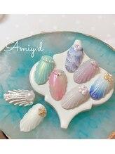 アミーディ ネイル(Amiy.d Nail)/【定額】7500円☆人魚の鱗