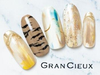 グランシュクアトロ 千葉店(GranCieux × QUATRO)/アニマル柄×ゴールドニュアンス