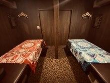 アジアンリラクゼーション ヴィラ 静岡西R1店(asian relaxation villa)の雰囲気(【ペアルーム】カップルやご夫婦、お友達同士でご利用できます♪)