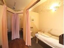 ナトゥーラ 金町南口店(natura)の雰囲気(施術スペースは半個室のプライベート空間。)