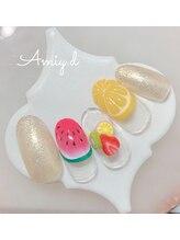 アミーディ ネイル(Amiy.d Nail)/【定額】8800円☆フルーツ