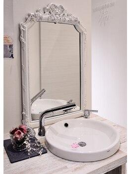 メディカルサロン祥/こだわりのある洗面台