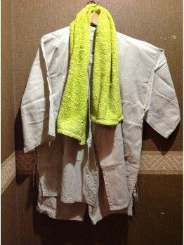 岩盤浴 だん暖/お着替え、タオル無料貸し出し
