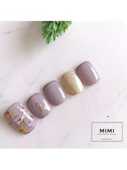 ミミ(MIMI)/NEW サンプル☆*°フットネイル