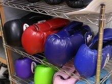ボクシングワークス 水龍會(BOXING-WORKS)の雰囲気(使用するグローブなどはマメに消毒!清潔さが自慢のジムです!)