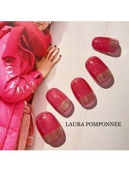 ローラポンポニー(Laura pomponnee)/ミラーフレンチ☆