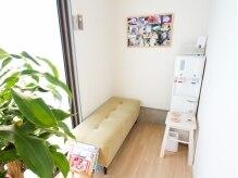 ボディケア ハナ(HANA)の雰囲気(緑とお日様が差し込む待合室☆)