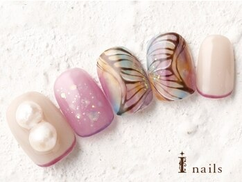 キラキラ蝶々パール 10480円