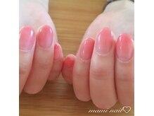 maogelを使用したグラデーションで指先を美しく華やかに。