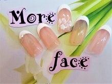 モアフェイス 吉祥寺店(More Face)/シンプルフレンチアート