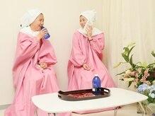 よもぎ蒸しで、冷え・むくみを改善!美は健康な心と身体から…♪