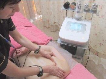 メディカルエステ アンボーテの写真/革命的な最新痩身マシン☆【WINBACK☆セル脂肪を徹底分解70分¥7700】深部を温め基礎代謝アップし美Bodyに♪