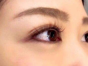 天使の目の写真/【カラーエクステで垢抜け目元を実現☆】人気のブラウンカラーを豊富にご用意!周りと差が付く魅せる目元♪