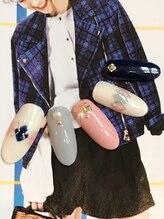 ビューティー プレイス ジャム イップク(Beauty Place JAM IPPUKU)/●秋ピンク特集/ア-ガイルネイル