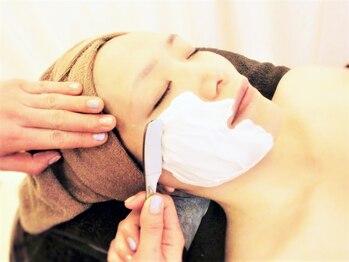 ビューティルームリチェ(Ri‐che)の写真/熟練のシェーブ技術で化粧ノリ◎の透明美肌へ♪シェービングは国家資格を持つスタッフにお任せ♪