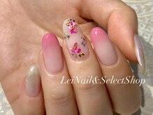 レイ ネイルアンドセレクトショップ(Lei Nail&Selectshop)/《花びらグラデーションネイル》