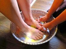 ルーチェ(LUCE)の雰囲気(足を温めることで血行不良が改善され身体がポカポカ)
