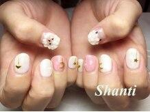 シャンティ ネイルサロン(Shanti nail salon)/アニマルアート、モコモコ♪