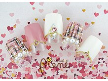 ネイルサロン ビーネ(nail salon Biene)/バレンタイン2018¥12980-6