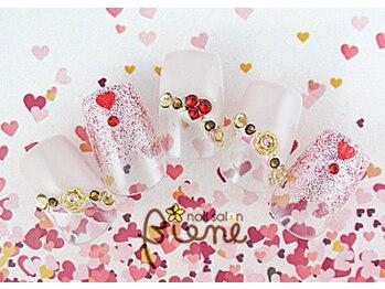 ネイルサロン ビーネ(nail salon Biene)/バレンタイン2018¥12980-8