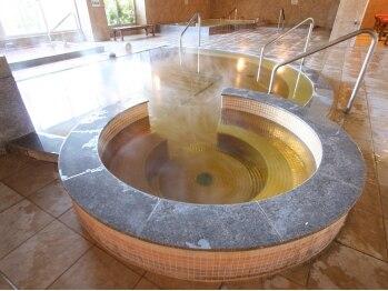天然温泉 みのりの湯 柏健康センター/黄金風呂-天然温泉-
