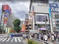 新宿駅東口からの道順2
