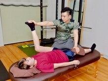 パーソナルトレーニングジム プレスト(PREST)の雰囲気(ストレッチや筋膜ケアで疲労解消にも◎)