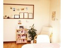 一軒家の一室は特別なネイルタイムが過ごせる寛ぎ空間♪
