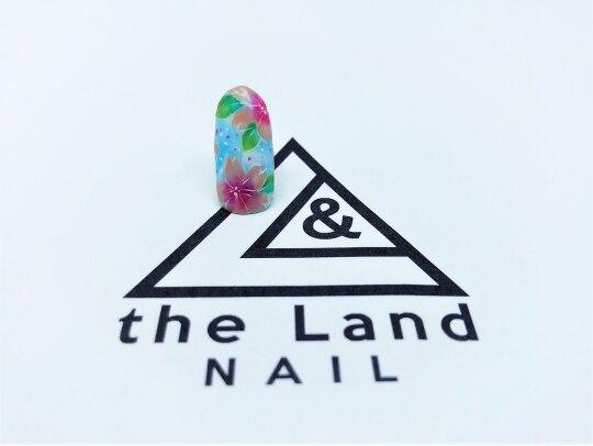 ザ ランド ネイル(the Land Nail)/カラフルフラワーズ △浅井