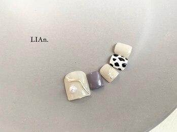 リアン(LIAn.)/¥9680/初¥8480 シンプル