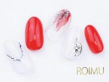 ロイム(ROIMU)/ニュアンス夏ネイル