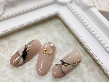 ジュエルズ ネイル(Jewels Nail)/大人ニュアンスネイル♪
