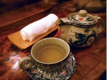 銀座足庵 六本木店の雰囲気(八宝茶や生姜の砂糖漬け等無料でお試しいただけますので是非☆)