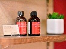 ルアンルアン ヘルスアンドビューティーモール Echika池袋店/施術で使っているオイルも販売中