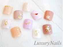 ラグジュアリーネイルズ カワグチ(Luxury Nails Kawaguchi)/季節限定☆親指フット¥6900