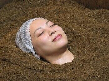 酵素浴5 ささしまライブ店の写真/ペア割でお得に☆米ぬか酵素風呂で免疫力アップ!美肌・美髪・冷え改善など嬉しい効果がたくさん♪